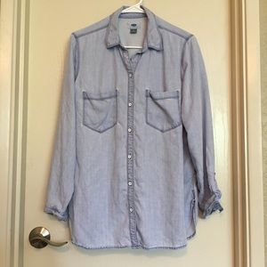 OLD NAVY Button Down Chambray Shirt